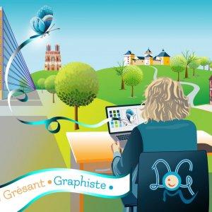 Dominique G. Graphiste Strasbourg